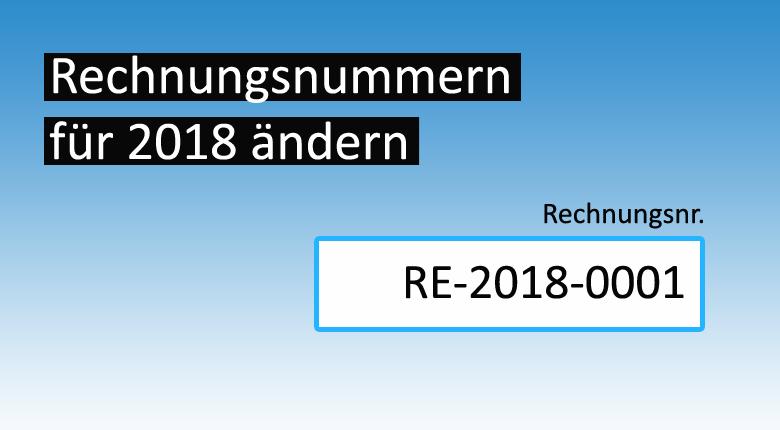 Rechnungsprogramm Debitoor Rechnungsnummer 2018 ändern