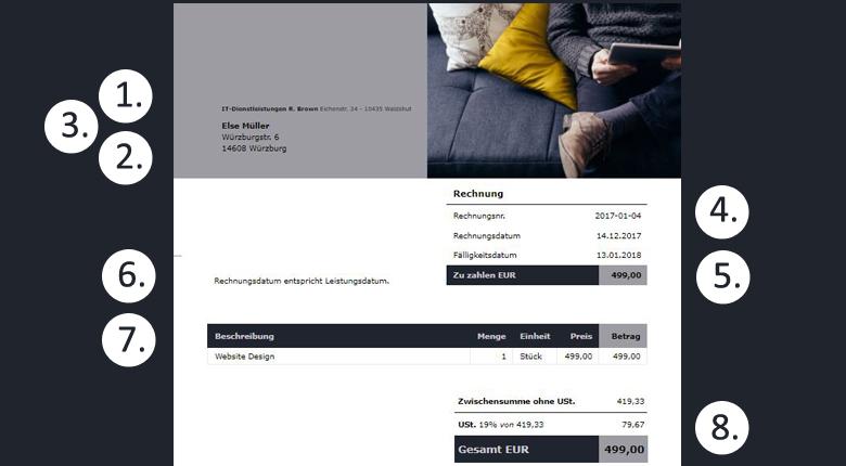 rechnungsprogramm kaufen 6 dinge auf die du achten solltest. Black Bedroom Furniture Sets. Home Design Ideas