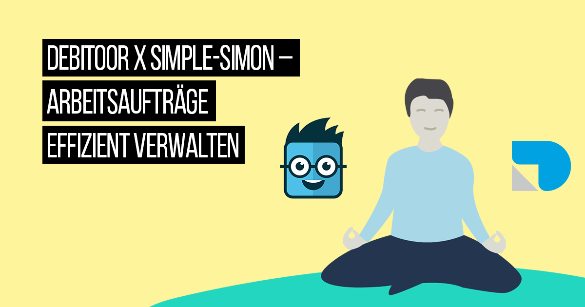 Neue Integration: Debitoor x Simple-Simon, die kluge Arbeitsauftrags-App