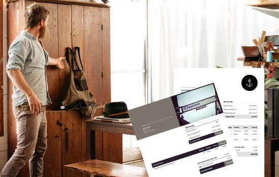 wo finde ich einen vordruck f r rechnungen debitoor. Black Bedroom Furniture Sets. Home Design Ideas