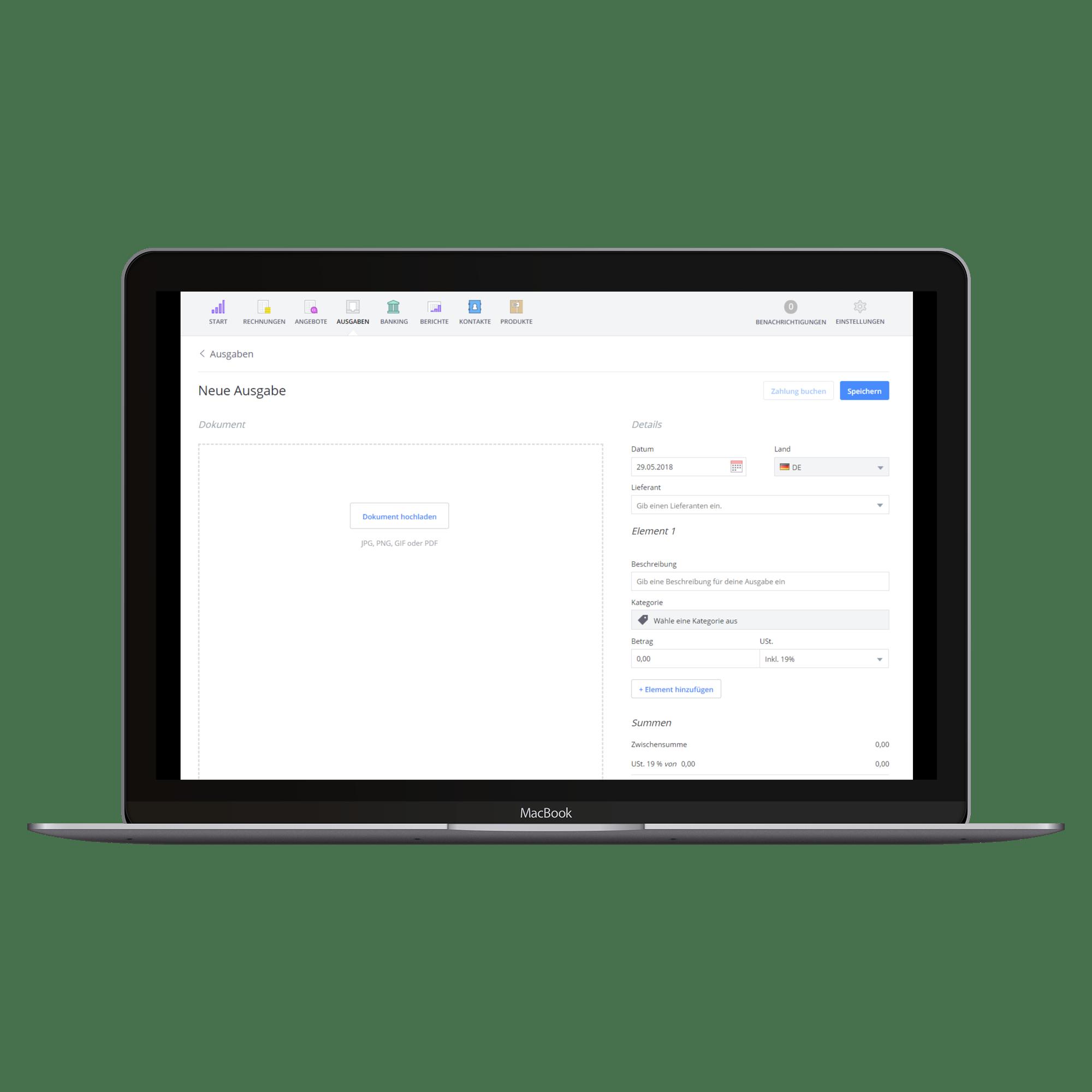 Einfache Buchhaltungssoftware: Online, mobil & flexibel | Debitoor